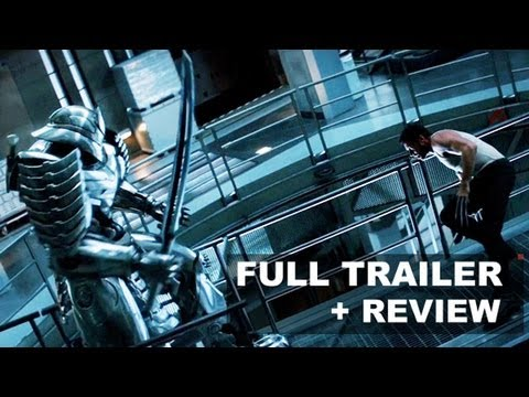 The Wolverine Official Trailer 2 2013 + Trailer Review : HD PLUS