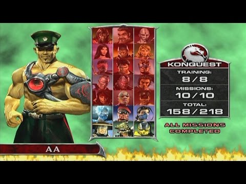 Mortal Kombat: Deadly Alliance - Konquest Walkthrough Part 16 - Hsu Hao