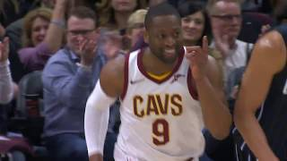 LeBron James Ridiculous No-Look Assist To Dwyane Wade   January 18, 2018