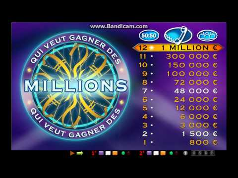 Who Wants To Be A Millionaire Powerpoint (french) video