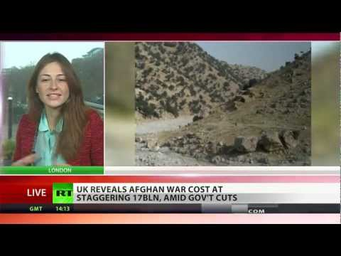 Cost of War: UK reveals staggering £17bln price tag for Afghan war