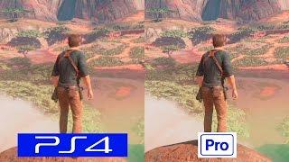 Uncharted 4   PS4 VS PS4 PRO   GRAPHICS COMPARISON   Comparativa