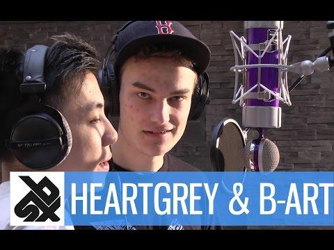 Heartgrey & B-art  |  Grand Beatbox Battle Studio Session 14' video