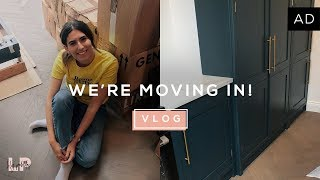 THE MOVING VLOG | Lily Pebbles