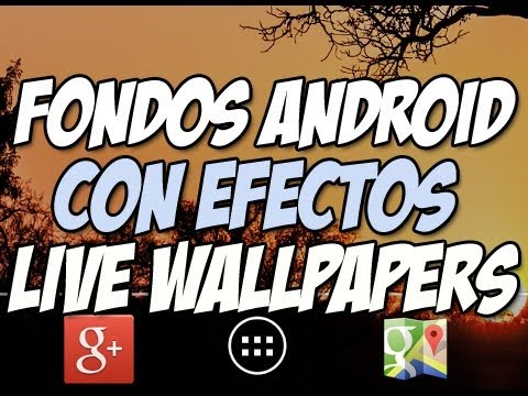 [LIVE WALLPAPERS] Fondos de pantalla ANIMADOS para android - Happy Tech