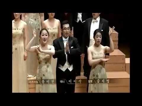 Choir paduan suara korea yang terkenal 인천시립합창단