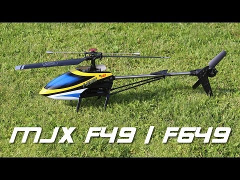 MJX F49 / F649 (F-Series) 4 Channel RC Helicopter - First flight