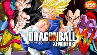 VEGITO and SSJ4 GOKU Dragon Ball Z : Xenoverse PS4 XBOX ONE Gameplay Commentary
