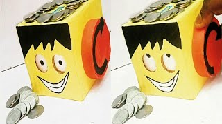 How to Make Coin Bank Diy ||piggy bank||#coin #piggy coin bank #DIY#project