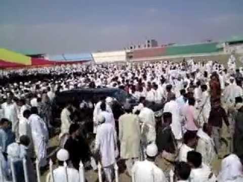 Nemaz-e-Jinaza Captan (R) Mohammad Sarfraz Khan Late Quaid-e-Azam Satydiam (Chairman Irfan Iqbal) thumbnail