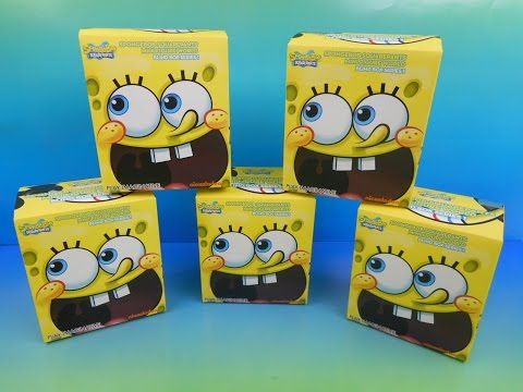Spongebob Squarepants Mini Figure World Series 1 Blind Box Mystery Opening video