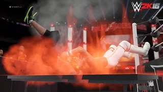 WWE 2K16 Extreme Moments Compilation! (PS4)