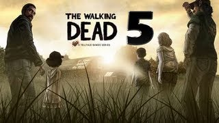 The Walking Dead Walkthrough Episode 01 A New Day Part 05 - [HD]