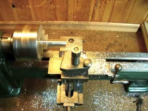 10 mm edelstahlwelle radius einfräsen mit optimum opti d240x500