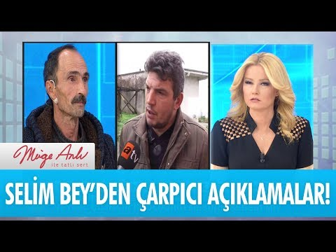 Selim Bey'den çarpıcı açıklamalar! - Müge Anlı İle Tatlı Sert 25 Aralık 2017