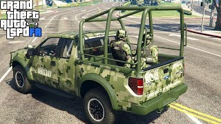 GTA 5|LSPDRF #81|EJERCITO MILITAR MEXICANO - CATEO|EdgarFtw