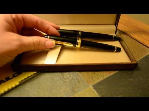 Sailor 1911 Black Luster Fountain Pen Review - New Release