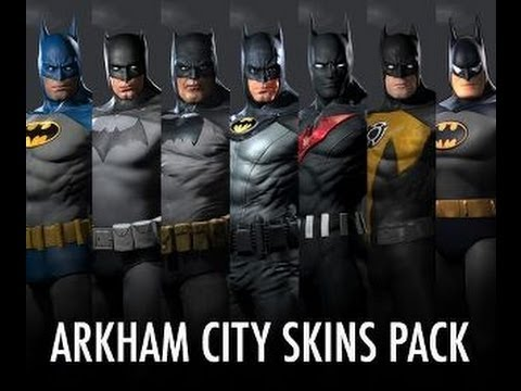 Batman Skins Pack - Batman: Arkham City