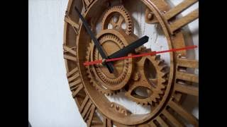 Часы на ЧПУ/Clock made by CNC