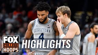 Mac McClung lifts Georgetown past rival Syracuse w/26 pt performance | FOX COLLEGE HOOPS HIGHLIGHTS