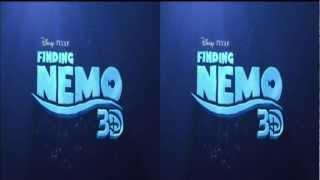 Finding Nemo Trailer 1 in (3D) 2012 Glasses Needed