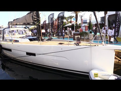 2019 Dufour 63 Exclusive Yacht - Deck and Interior Walkaround - 2018 Cannes Yachting Festival