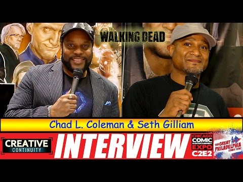 Walking Dead: Chad L. Coleman and Seth Gilliam - S3E16 Creative Continuity