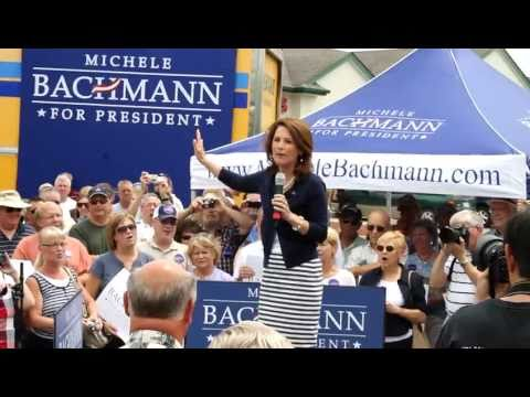 Michele Bachmann Prez Says - Barack Obama