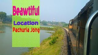 BEWTIFUL LOCATION SIDE OF RAILWAY IN BANGLADESH