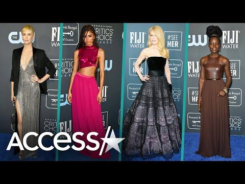 2020 Critics' Choice Awards: Charlize Theron, Zendaya And More Stun On The Red Carpet