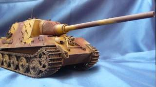 Dragon Jagdtiger (Late Production) in 1/35 scale