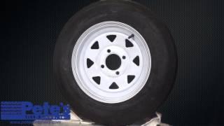 Carlisle Sport Trail Trailer Tire and Wheel 5.30x12 (6 Ply) (4 Lug)