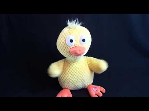 Hallmark Wacky Doodle Dandy Duck Plush Sings Chicken Dance video