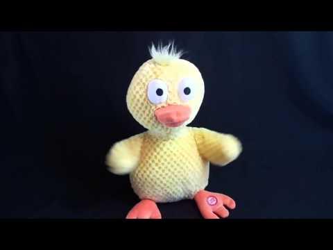 Hallmark Wacky Doodle Dandy Duck Plush Sings Chicken Dance video