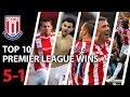 Stoke City FC Top 10 Premier League Wins (5-1) MP3