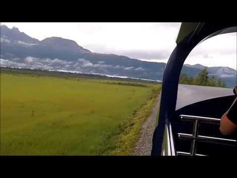 Alaska Train Anchorage to Denali