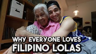 The Viral 100-yr-old LOLA is Back! (Visiting Manila, Philippines)