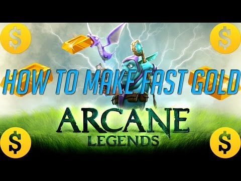 Arcane Legends | HOW TO MAKE FAST GOLD 2017!!! [500K Giveaway!]