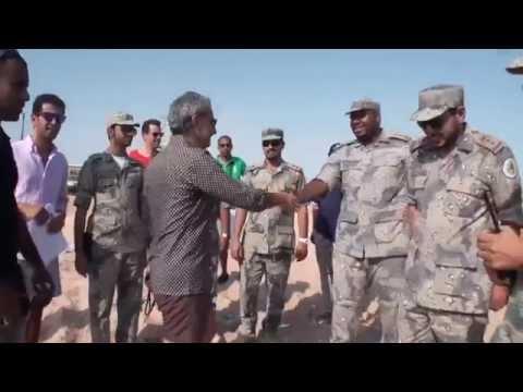 Visit Prince Alwaleed bin Talal to Saudi coastguard زيارة خفر السواحل