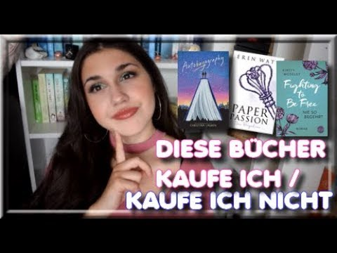 BÜCHER ANTI-HAUL FT. BÜCHER- WUNSCHLISTE    DIESE BÜCHER KAUFE ICH/ KAUFE ICH NICHT