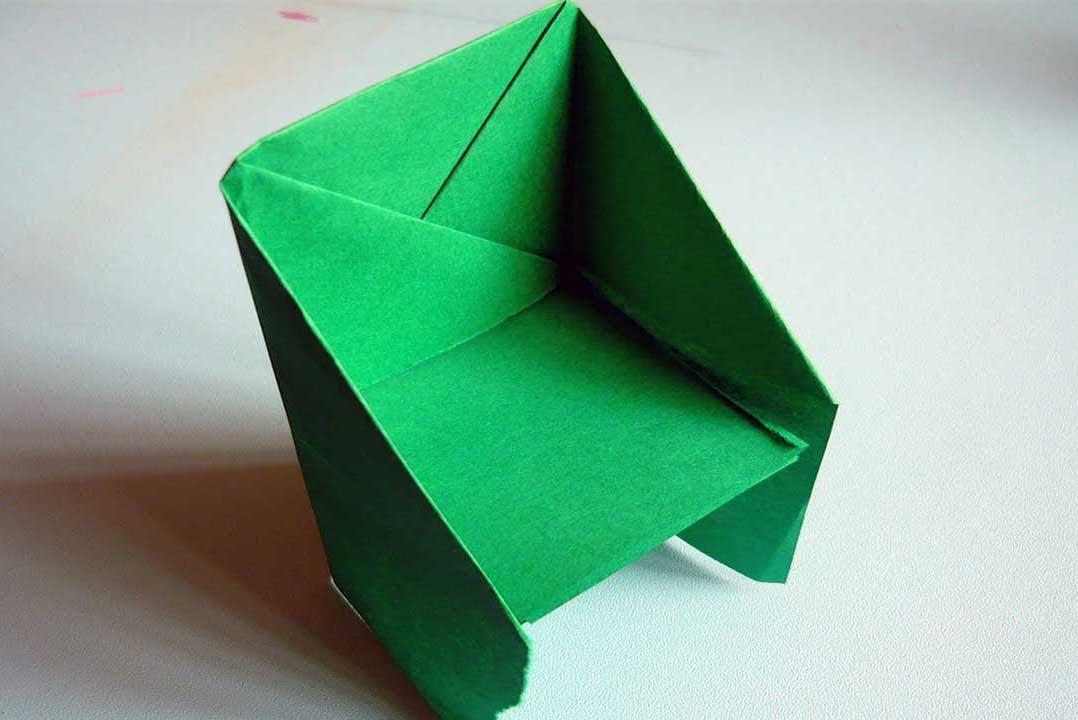 простая оригами схема