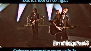 Bon Jovi-What Do You Got? / ¿Qué tienes? (Lyrics English/Spanish) in HD