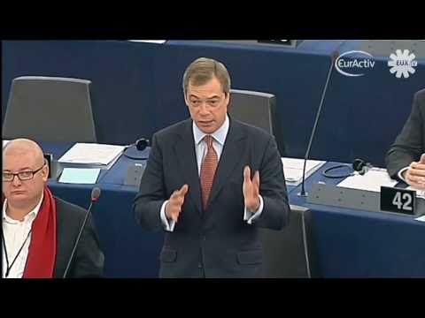 Farage draws Barroso laughs as he proposes new EU referendum