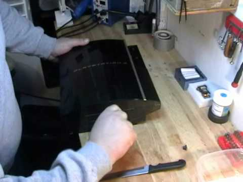 Ps3 Fat Disassembly Ps3 Disassembly 40gb Non