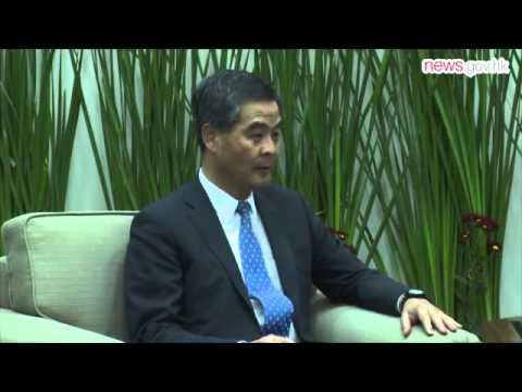 ASEAN an important partner: CE (17.9.2015)