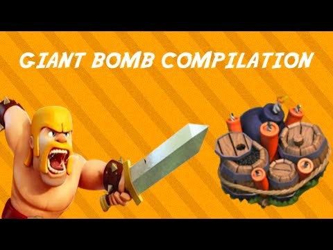 Clash of Clans - Giant Bomb Compilation