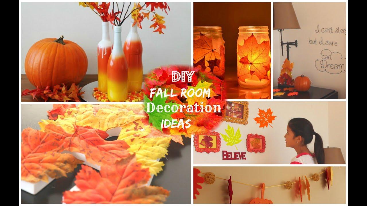 Diy Fall Room Decoration Ideas 2014 Youtube