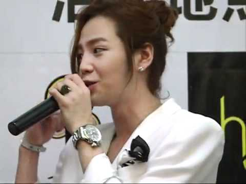 110708 Jang Keun Suk Shanghai Conference HD Full Record 26.10 min