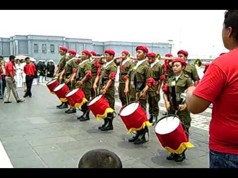 Banda De Guerra Del CBTA 17 De Cd  Cardel Veracruz   Marcha Libre