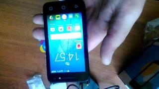 Смартфон Alcatel ONE TOUCH PIXI 4 4034D маленький обзор.
